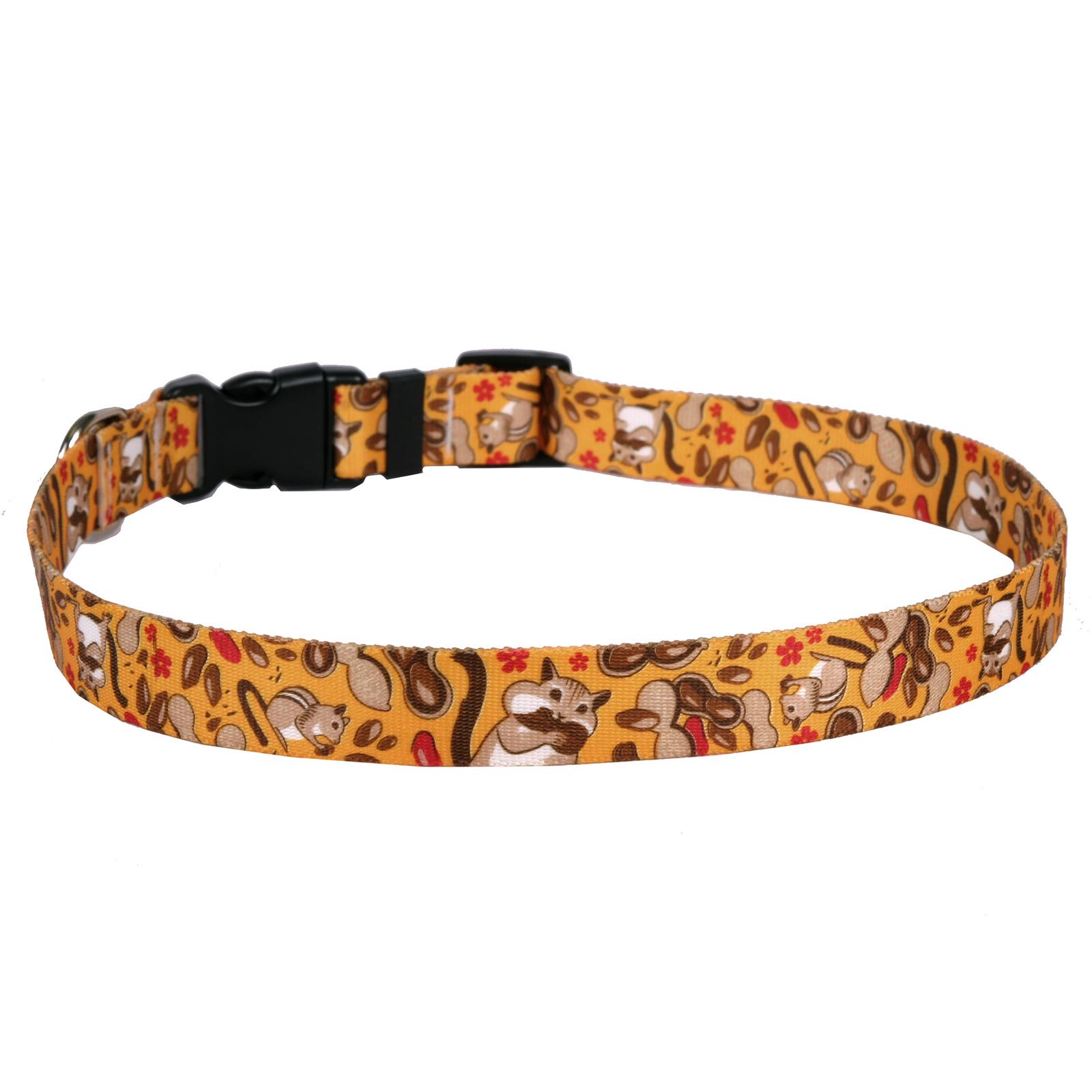 Yellow Dog Design Yellow Dog - Cat Collar - Chipmunks