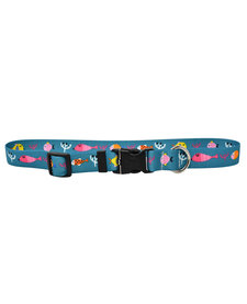 Yellow Dog - Cat Collar - Ocean Friends