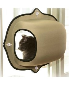 K&H EZ Mount Window Bubble Pod Tan