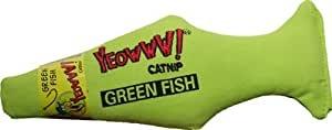 Yeowww! Catnip Green Fish