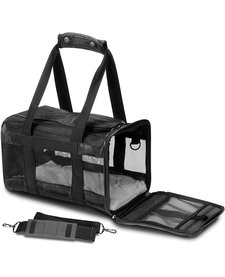 Sherpa Deluxe Carrier Black SM
