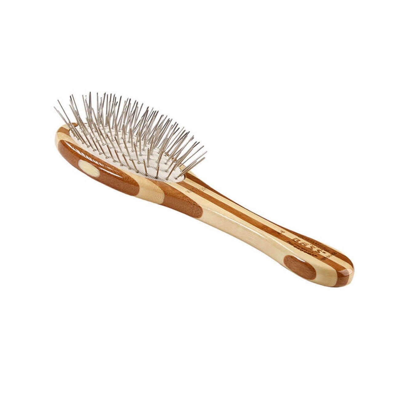 Bass Brushes Bass All Wood Groomer Oval Size SM