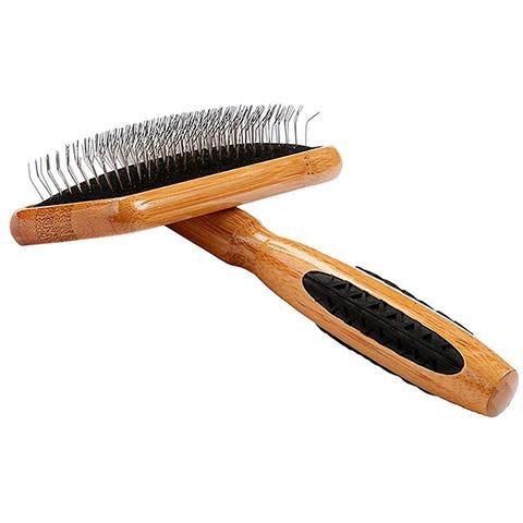Bass Brushes Bass Slicker Brush Bamboo Handle Size Large