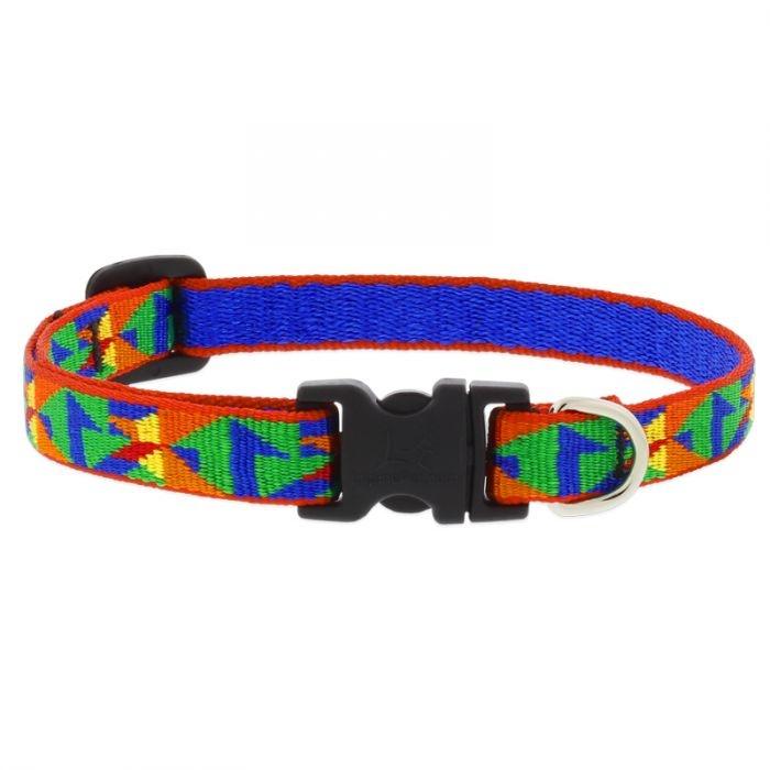 "Lupine Lupine Dog Collar Origami 10""- 16"""