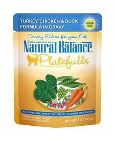 Nat Bal Platefulls Turkey, Chicken & Duck 3 oz
