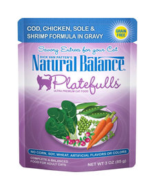 Nat Bal Platefulls Cod, Chicken, Sole & Shrimp 3 oz