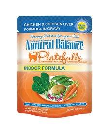 Nat Bal Platefulls Chicken & Chicken Liver 3 oz