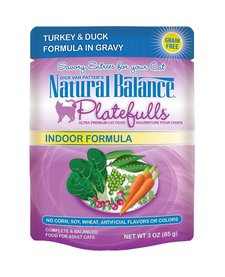 Nat Bal Platefulls Turkey & Duck 3 oz
