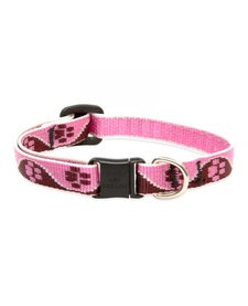 1/2in Lupine Tickled Pink Cat Collar 8-12in