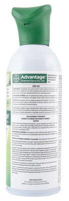 Advantage (Bayer) Advantage Cat Spray 8oz
