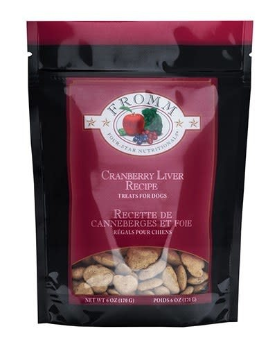 Fromm Family Foods LLC Fromm 4 Star Cranberry Liver Treats 6oz