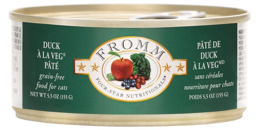 Fromm Family Foods LLC Fromm 4Star Cat Duck a la Veg 5.5 oz