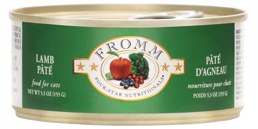 Fromm Family Foods LLC Fromm 4Star Cat Lamb Pate 5.5 oz