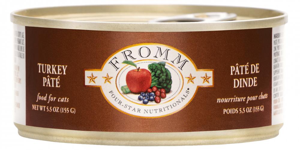 Fromm Family Foods LLC Fromm 4Star Cat Turkey Pumpkin 5.5 oz