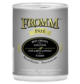 Fromm Family Foods LLC Fromm Beef/Chk/Oat Pate 12 oz