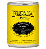 Fromm Family Foods LLC Fromm Chicken, Salmon & Oat Pate 12 oz
