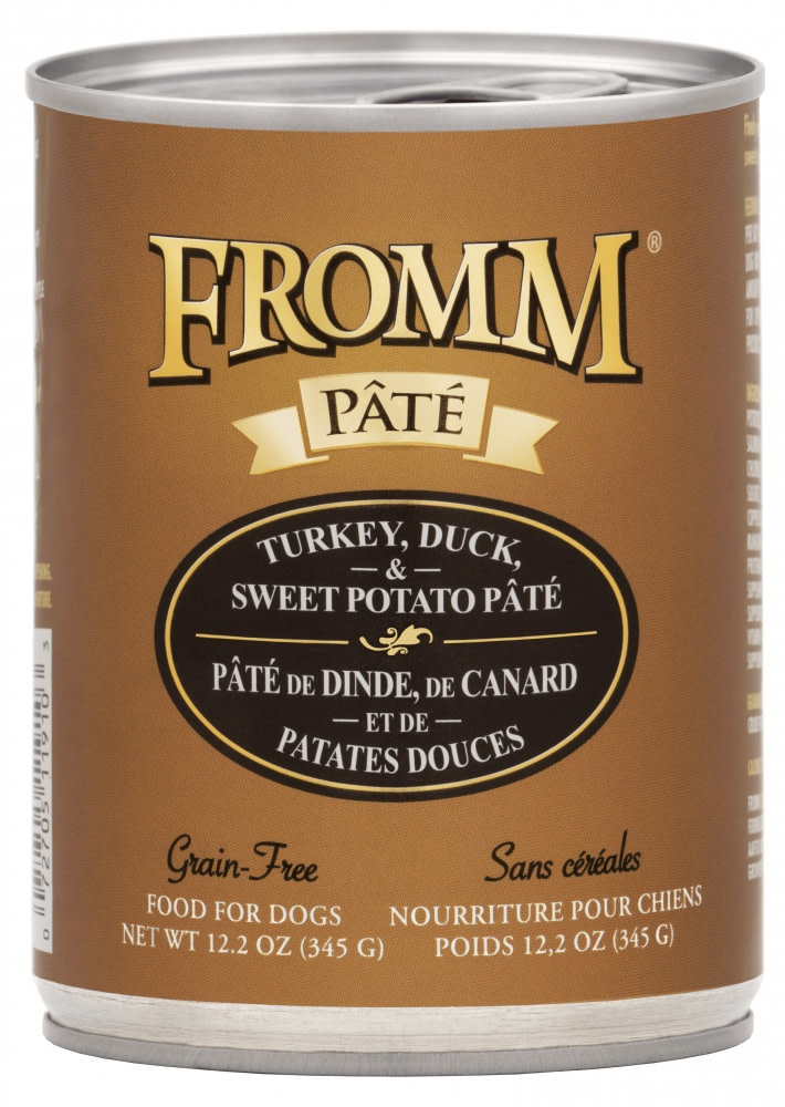 Fromm Family Foods LLC Fromm Turkey & Duck Pate 12 oz