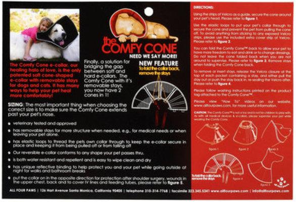 Comfy Cone LG Tan