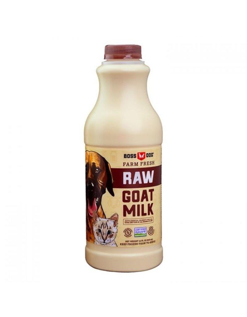 Boss Dog Boss Dog Raw Goat Milk 32 oz