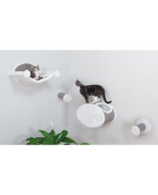 Trixie Wall Mount Cat Lounge Set