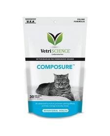 VetriScience Composure Chews 30ct Cat