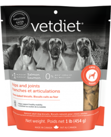Vetdiet Hip & Joint Biscuits 1 lb