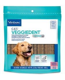 CET VeggieDent Chews LG