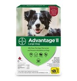 Advantage (Bayer) Advantage II Large Dog, 6 Pack