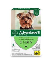 Advantage II Small Dog, 6 Pack