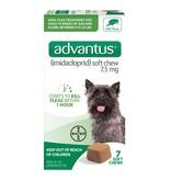 Advantus 7.5mg Small Dog 4-22 lb 7 ct