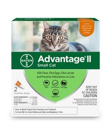 Advantage II Small Cat 2 Pack