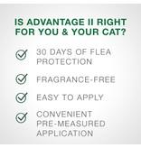 Advantage (Bayer) Advantage II Small Cat 2 Pack