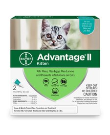 Advantage II Kitten 2 Pack