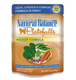 Natural Balance Nat Bal Platefulls Duck Chk Pumpkin 3 oz