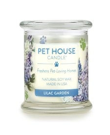 Pet House Candle Lilac Garden