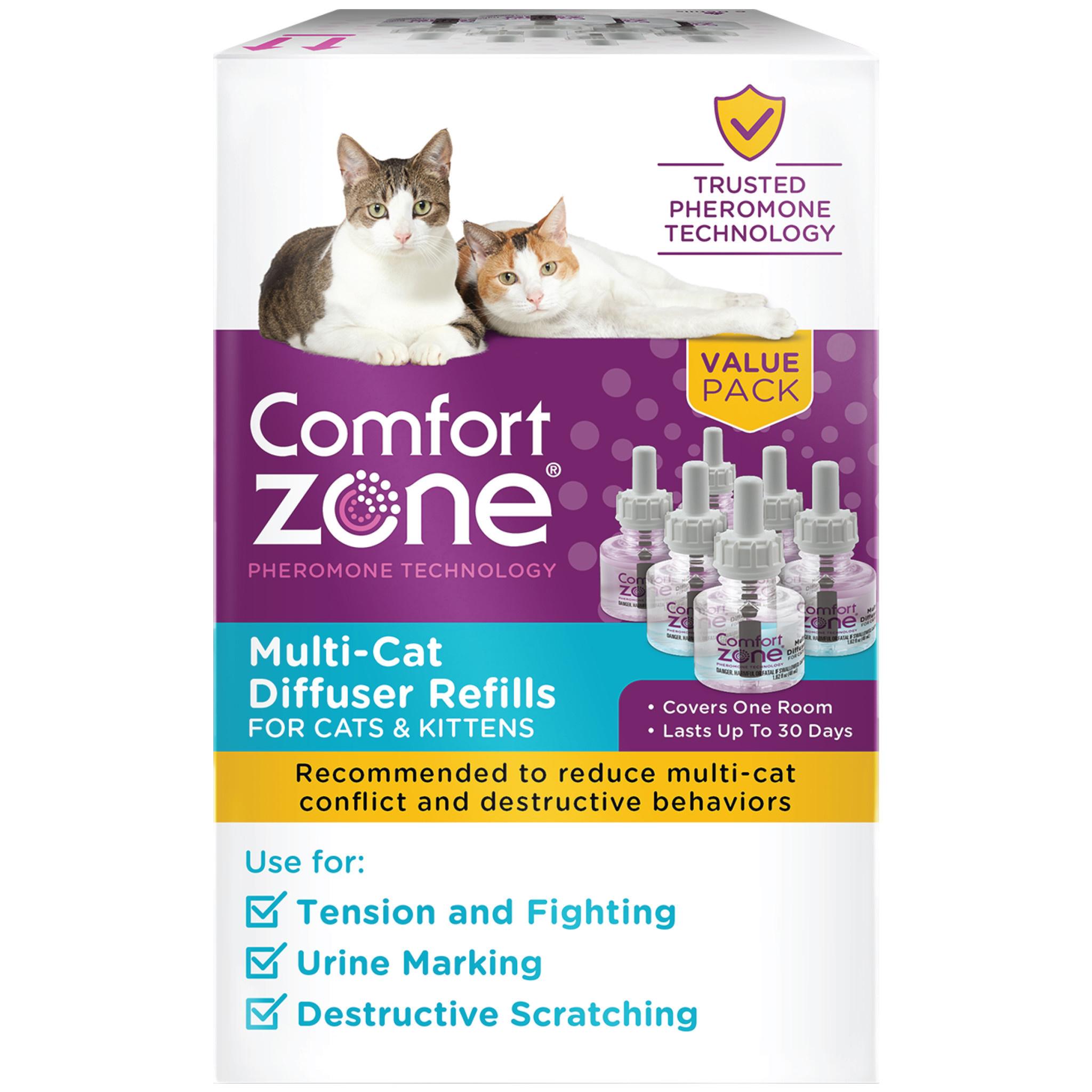 Comfort Zone Two Room Multi-Cat Diffuser
