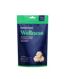 Honest Paws Wellness Coconut Treats 9.5 oz