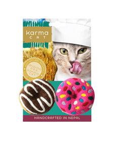 Karma Cat - Felt Donut 2 pk