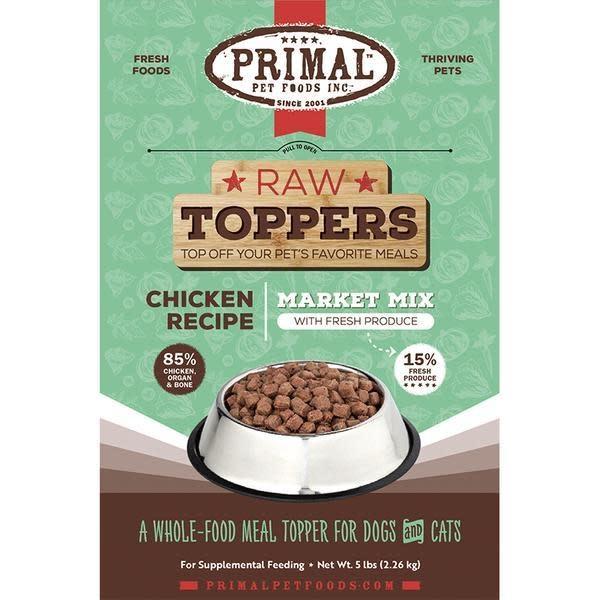 Primal Pet Foods Primal Chicken Market Mix Topper 5 lb