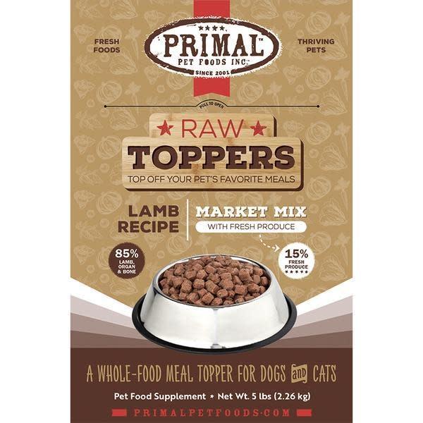 Primal Pet Foods Primal Lamb Market Mix Topper 5 lb