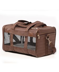 Sherpa Deluxe Carrier Brown MD