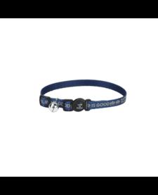 Life Is Good Happy Trails Cat Collar Blue