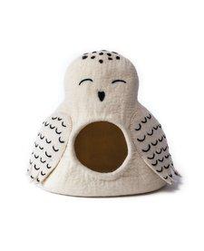 Karma Cat Cave - Snowy Owl
