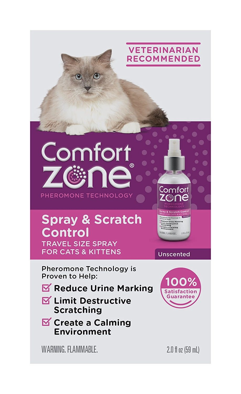Comfort Zone Spray & Scratch Control 2 oz