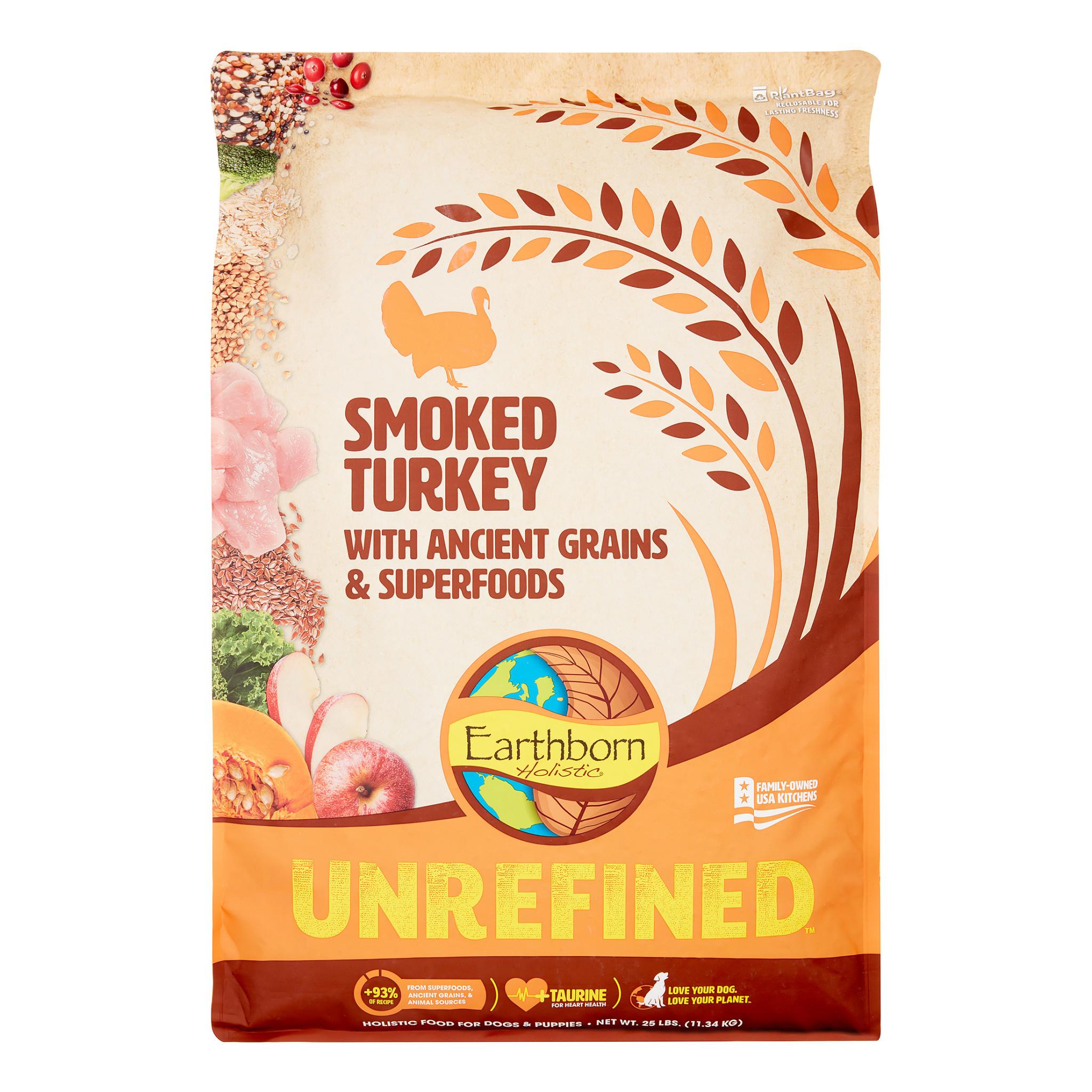 Earthborn Earthborn Unrefined Turkey 25 lb