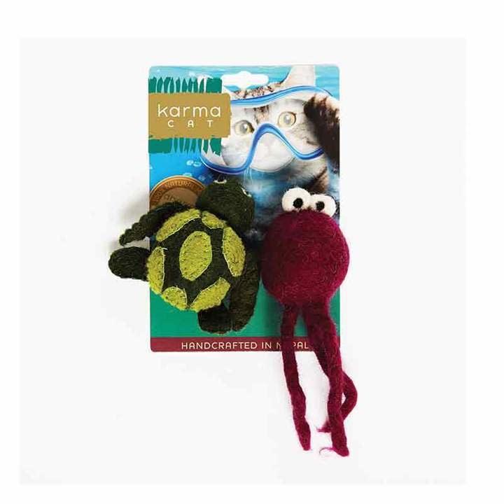 Karma Cat Karma Cat - Felt Turtle & Jellyfish