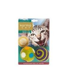 "Karma Cat - Felt Balls 1.5"" 2-pack"