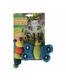 Karma Cat - Felt Caterpillar & Butterfly
