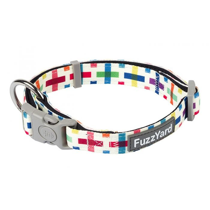 Fuzzyard Jenga Collar-Large