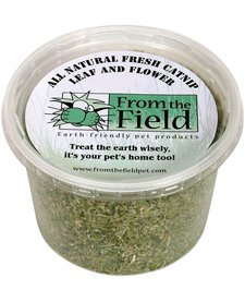 From the Field Leaf & Flower Catnip 2 oz Tub